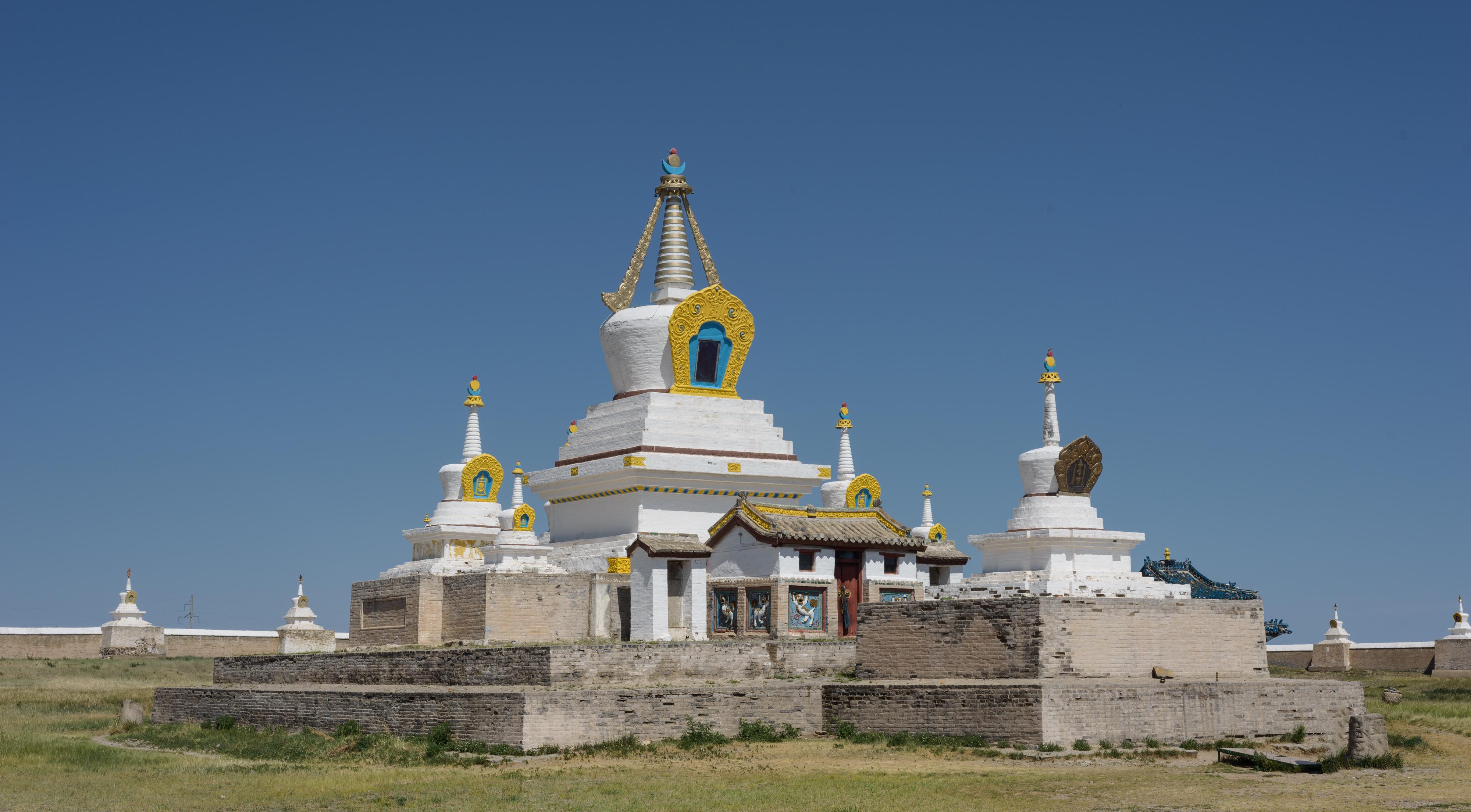 Mongolian monastary