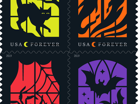 U.S. Postal Service To Issue New Halloween Stamps