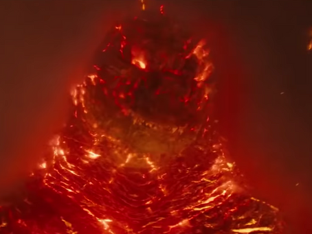 Godzilla-Now Featuring Fire!