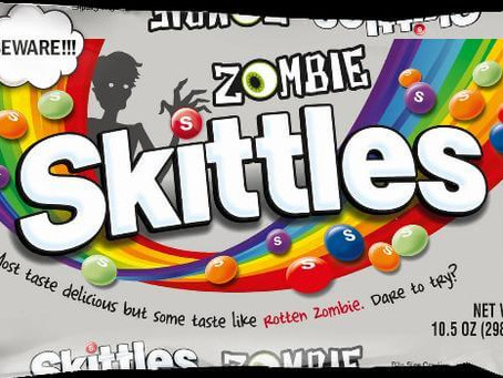 New Skittles Will Feature Rotten Zombie Flavor