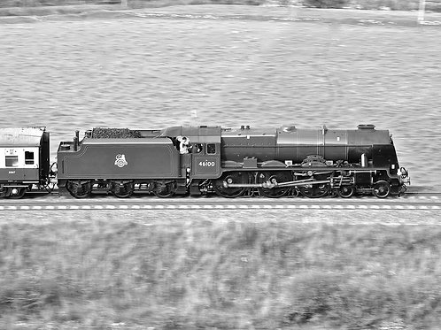 'Royal Scot' at Speed