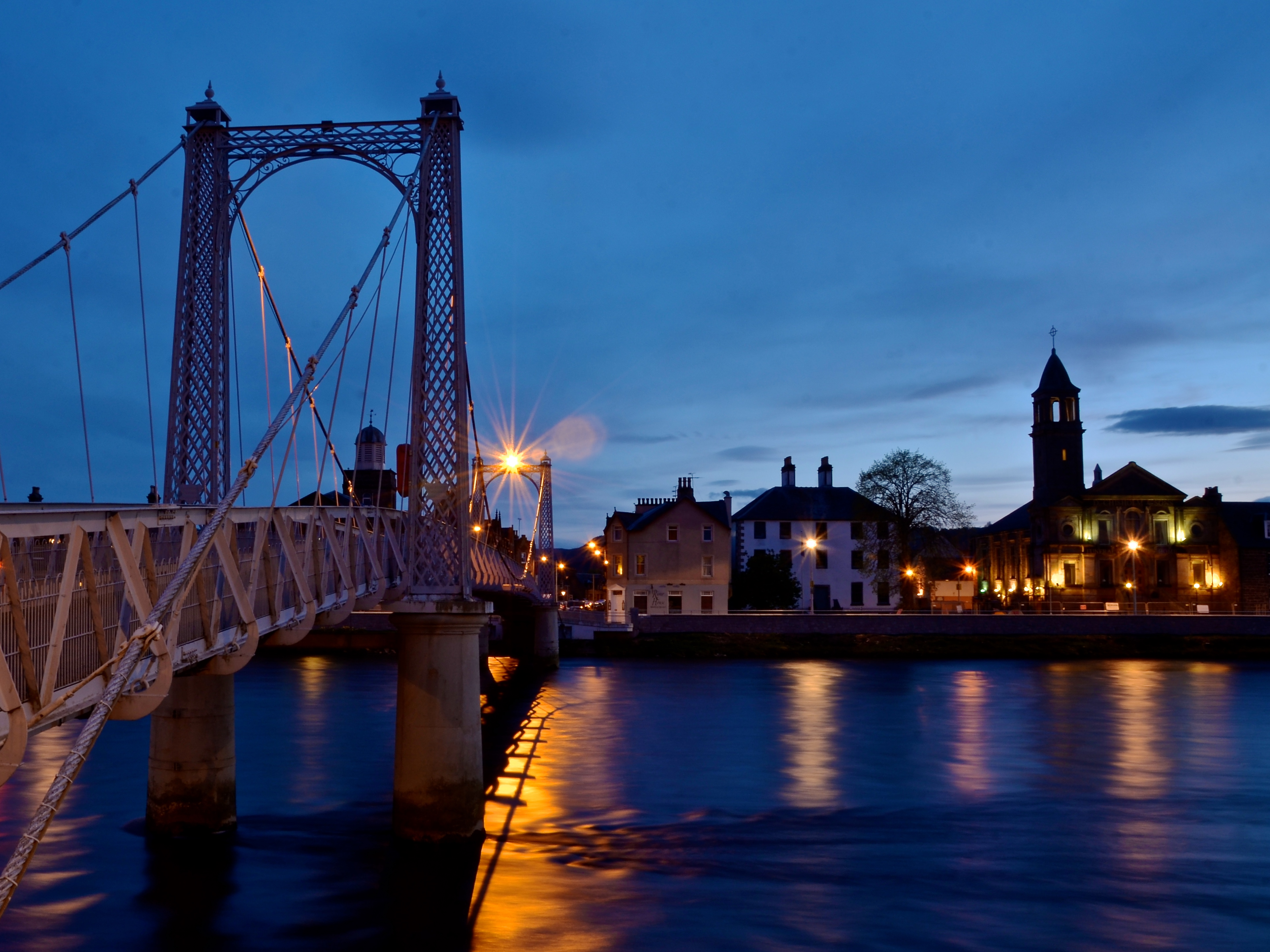 Inverness at Dusk
