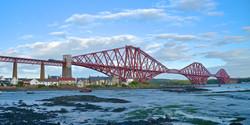 Crossing the Forth Bridge