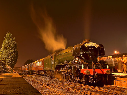 'Flying Scotsman' at rest