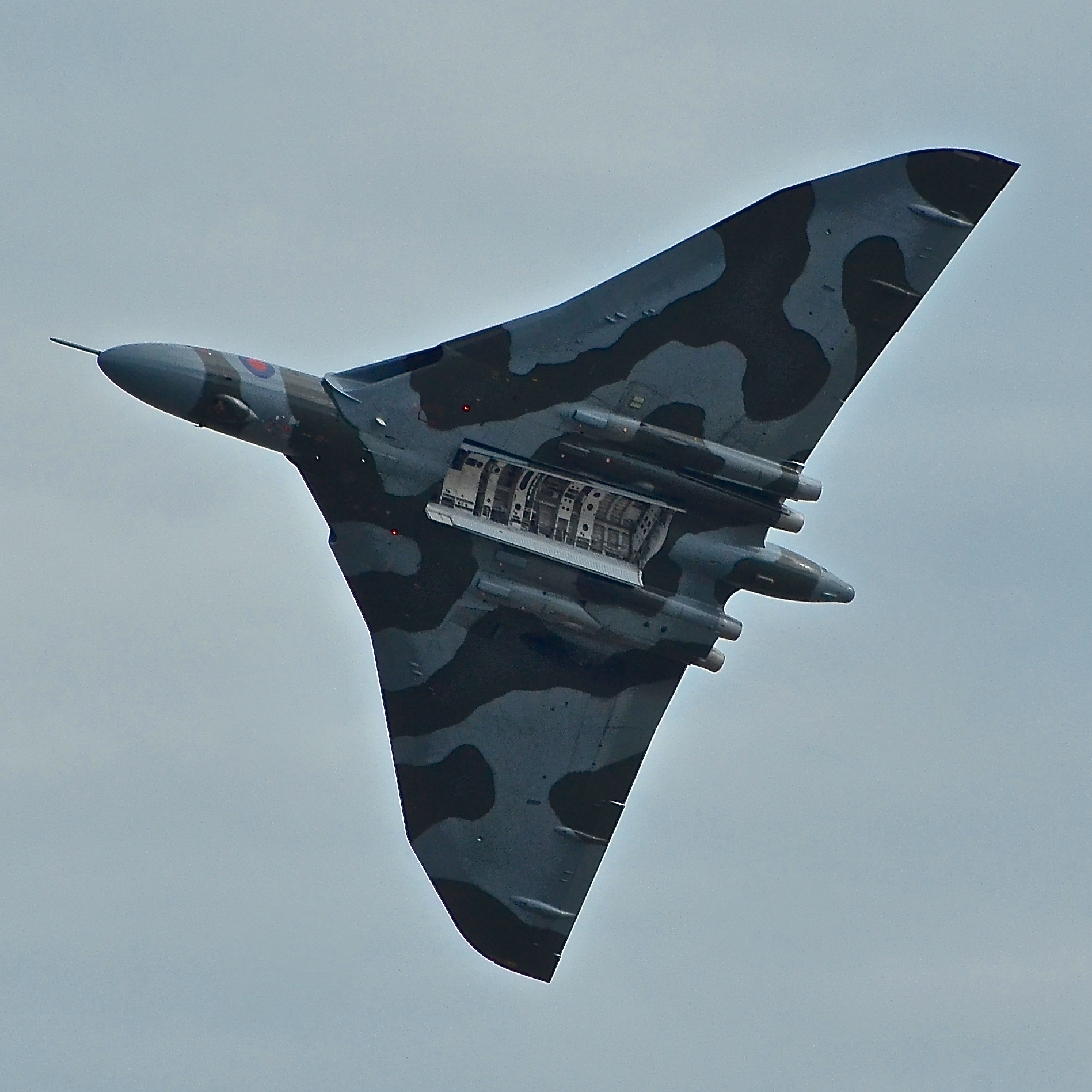A Vulcan in Flight