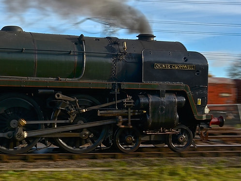 'Oliver Cromwell' at Speed