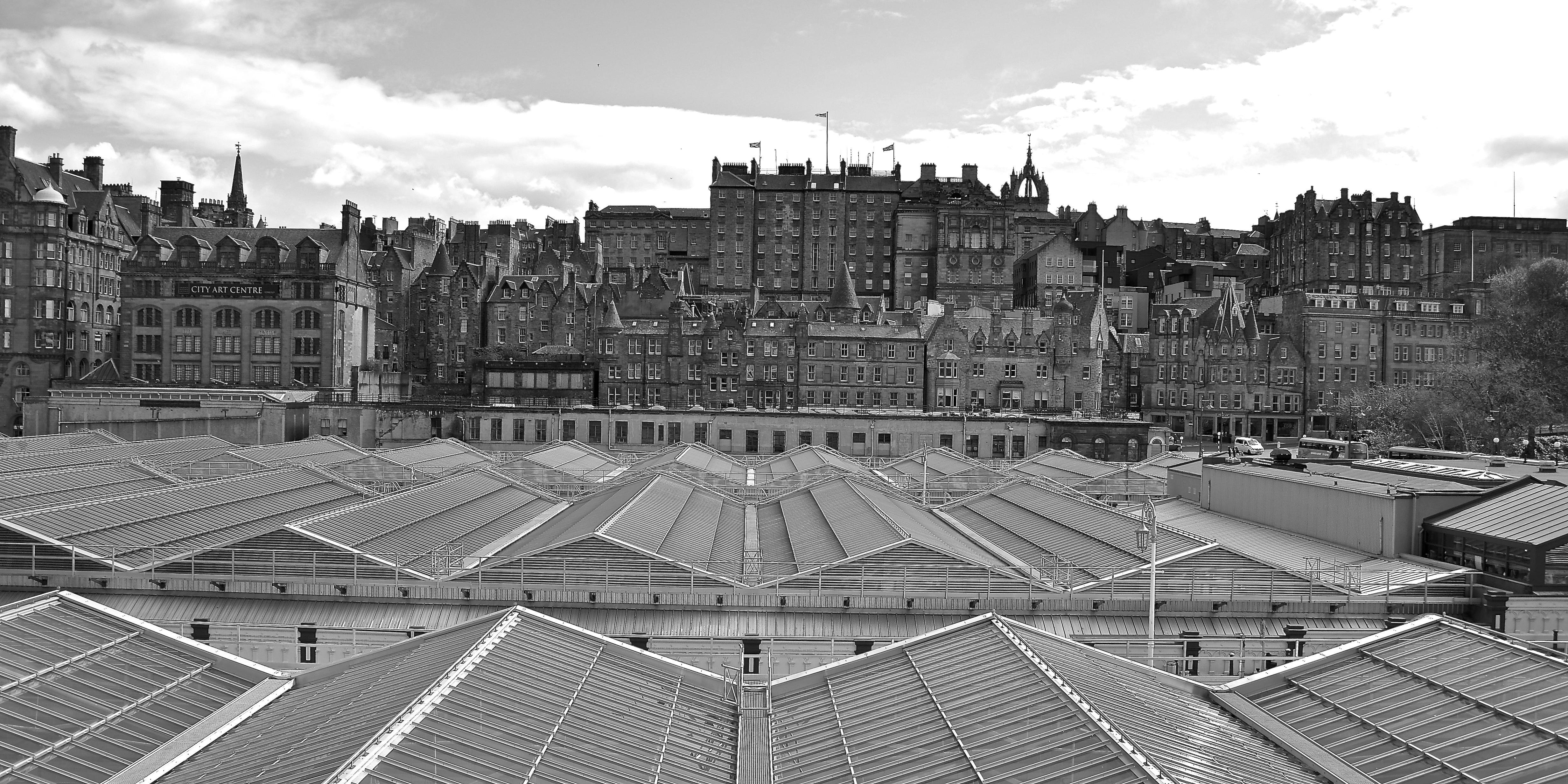 Old and New: Edinburgh Waverley