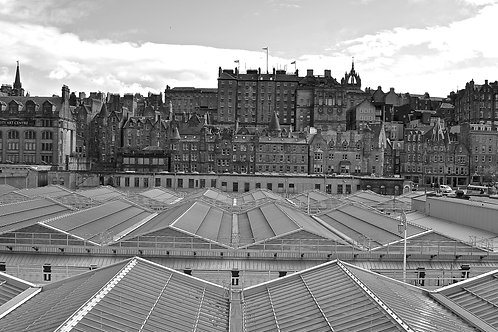 Old and New: Edinburgh Waverley