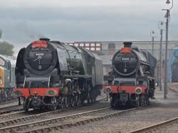 Express Locomotives at Barrow Hill