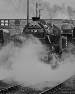 The Comet at Barrow Hill