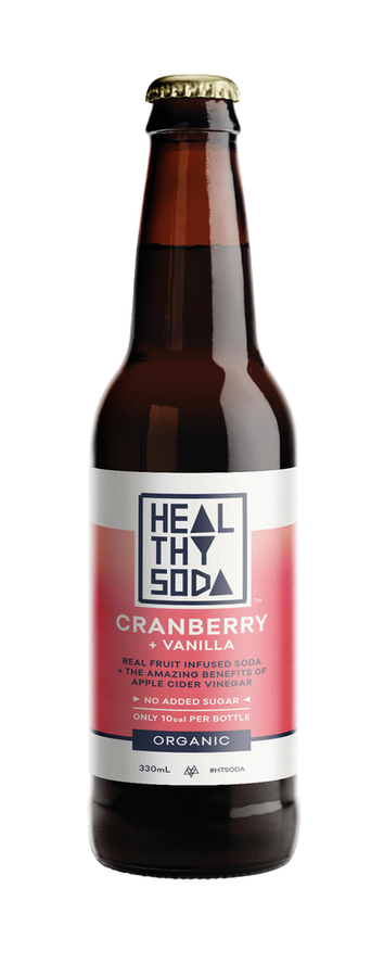 Cranberry + Vanilla - with ACV