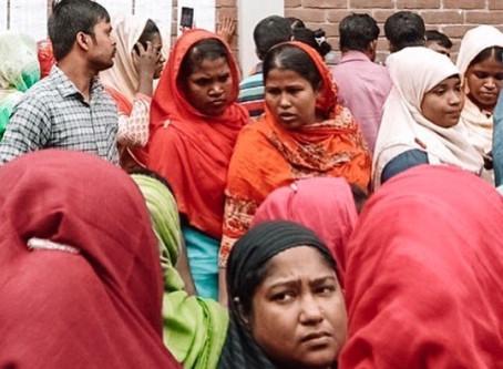 INJUSTICIAS EN FÁBRICAS TEXTILES DE BANGLADESH