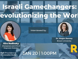 Recording of Israeli Gamechangers with Dr. Kira Radinsky Interviewed by Dr. Megan Ranney