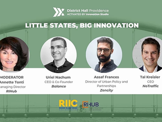 Little States, Big Innovation: Israel X Rhode Island Episode 7 March 9th at 12:00 pm EST