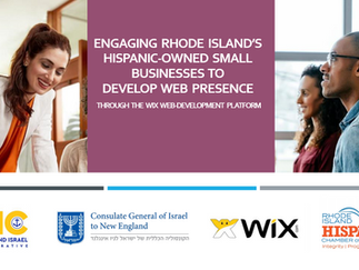 ENGAGING RHODE ISLAND'S HISPANIC-OWNED SMALL BUSINESSES TO DEVELOP WEB PRESENCE