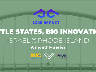 Little States, Big Innovation: Israel X Rhode Island Episode 6 February 9th 12:00 pm