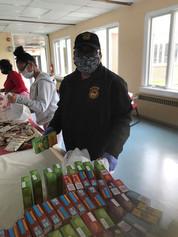 Covid-19 Food Drive for Dorthea Campbel Senior Center