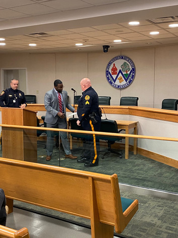 Congratulations Sgt. Robert Kelley on your Promotion!