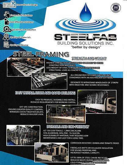 STEELFAB BUILDING SOLUTIONS ZINCALUME FR