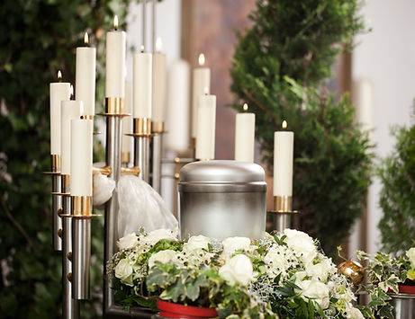 Flowers Candles Funeral