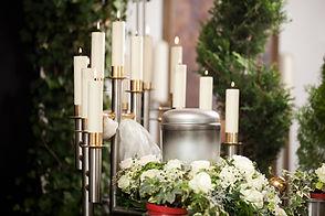 鮮花蠟燭,葬禮