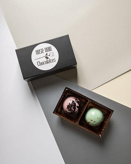 Two piece bonbon box