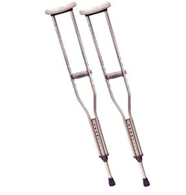 Drive Aluminum Crutches for Tall Adults