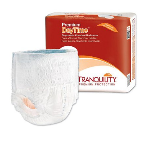 Premium Daytime XL Unisex Adult Absorbent Underwear Tranquility®  Pull On