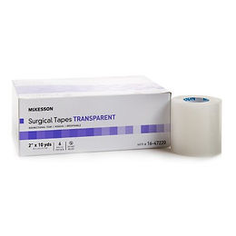 "Medical Tape McKesson Plastic 2"" x 10 yds"