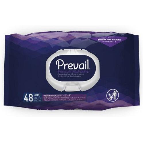 Personal Wipe Prevail® Soft Pack Aloe / Vitamin E / Chamomile Fresh Scent 48