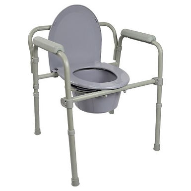 McKesson Folding Commode Chair