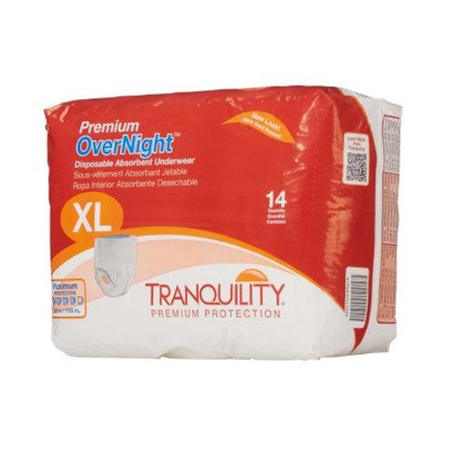 Premium Overnight XL Unisex Adult Absorbent Underwear Tranquility® 14 count