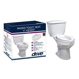 Drive Raised Toilet Seat 14 x 4 in