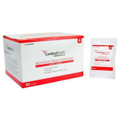 XL Adhesive Remover Wipes 4x4-3/4 in
