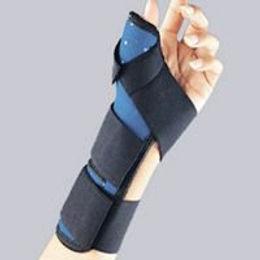 Thumb Spica Strap Closure Navy FLA Orthopedics