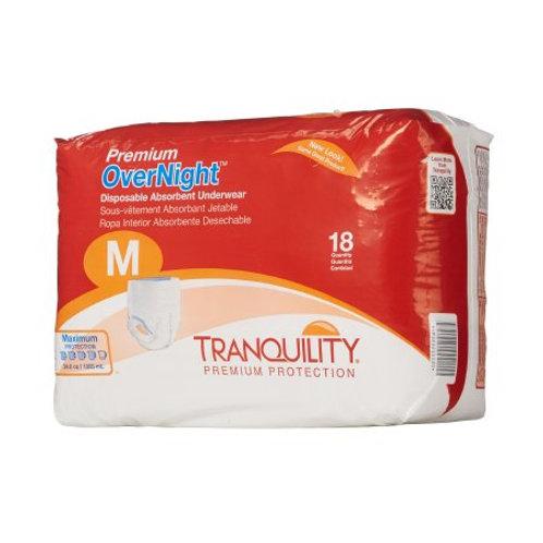 Premium Overnight Medium Unisex Adult Absorbent Underwear Tranquility®
