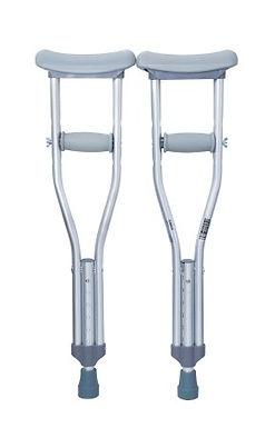 Under Arm Crutches for Children, McKesson Aluminum 175lbs