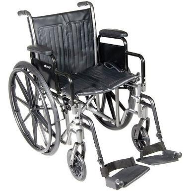 "McKesson WheelChair DDA SF 18"" 300 lb capacity"