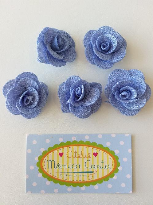 Flor delicada azul
