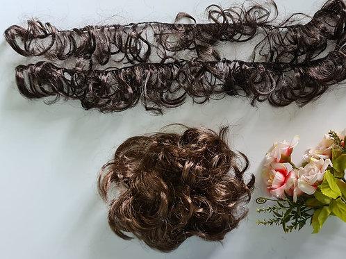 cabelo sintético Chanel castanho claro