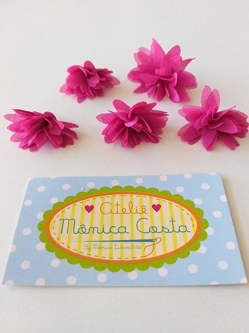 Flor média pingente pink