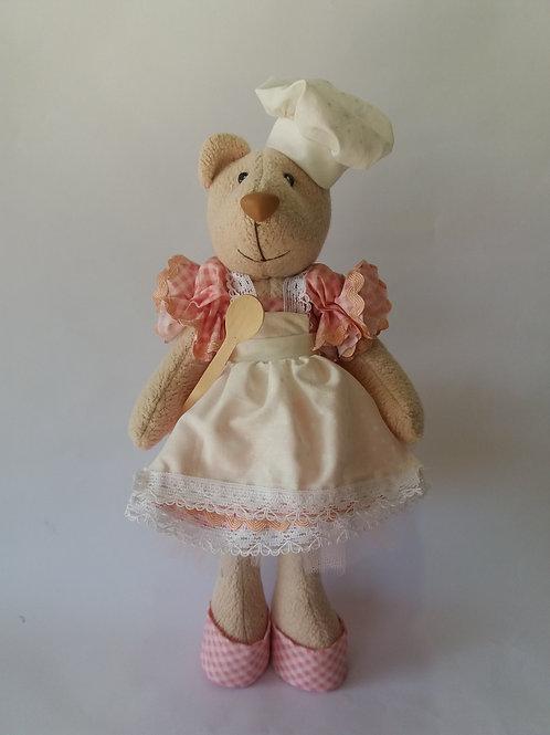 Boneca Ursa Confeiteira p