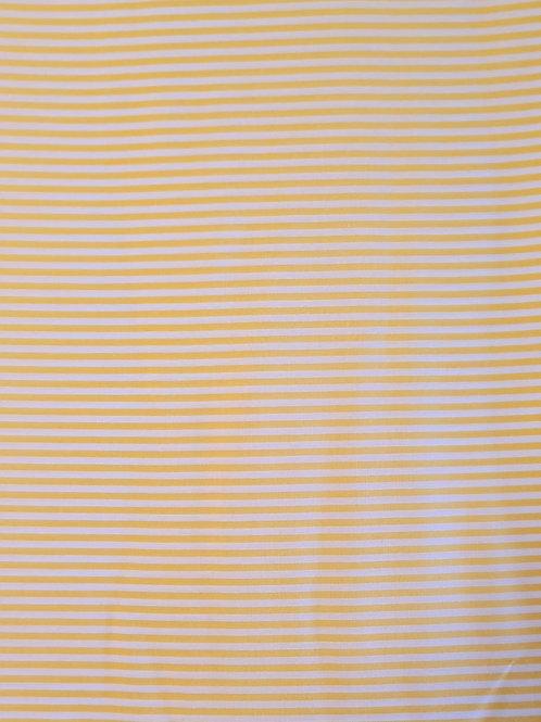 tecido listra amarelo m -  perna de boneca