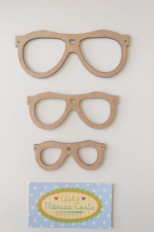 Kit óculos ray-ban