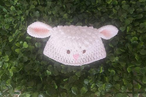 Touca Croche Ovelhinha