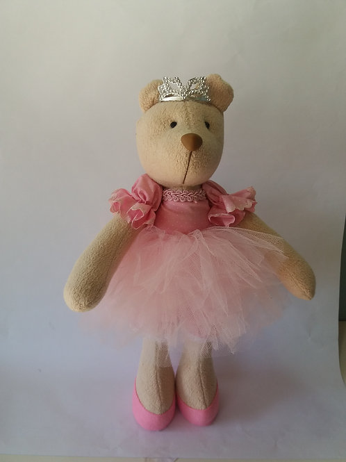 Boneca Ursa Bailarina p