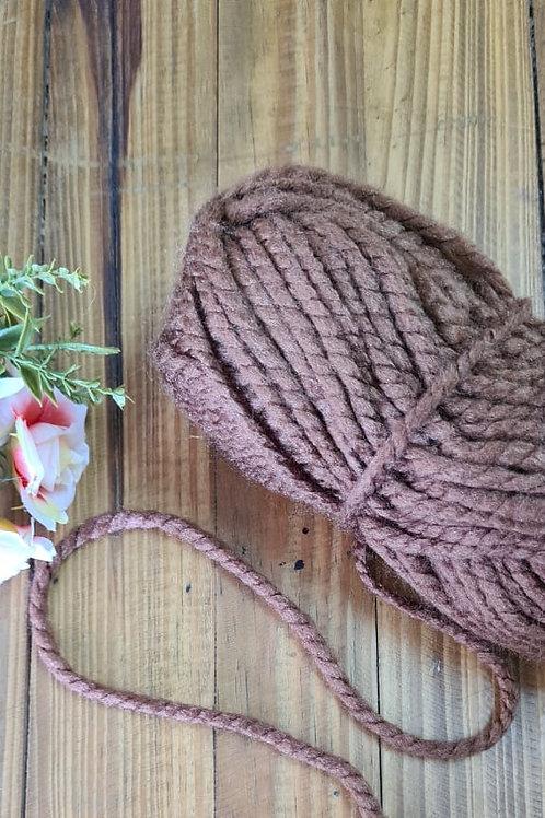 Lã grossa castanho 121