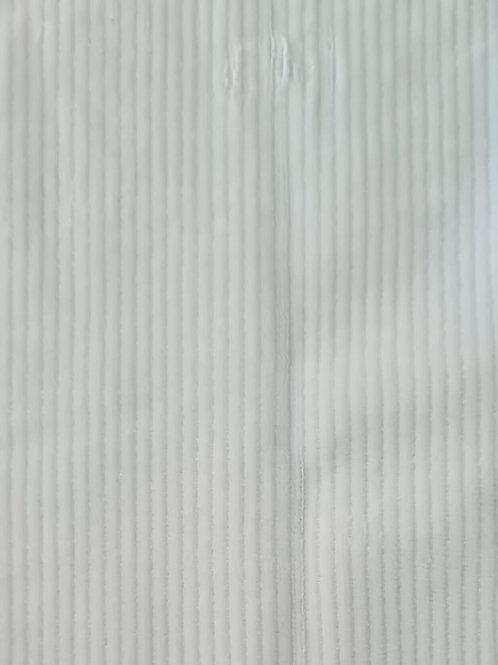 Velido Canelado Branco