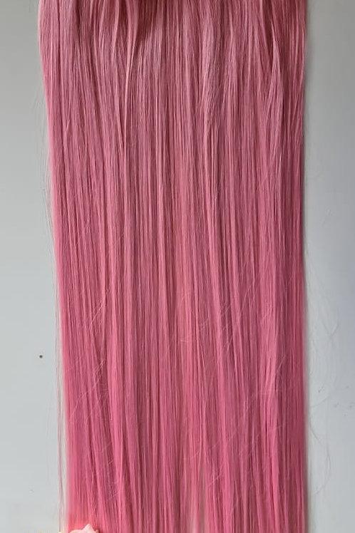 Cabelo Longo Liso rosa