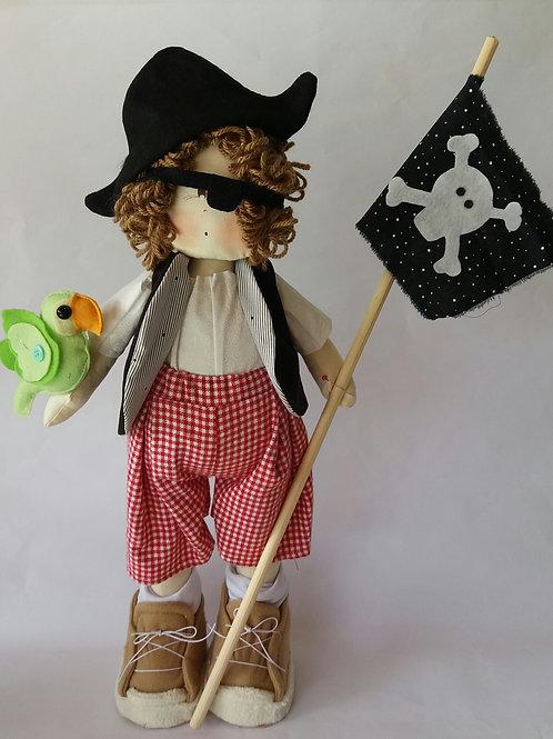 Boneco Pirata chapéu
